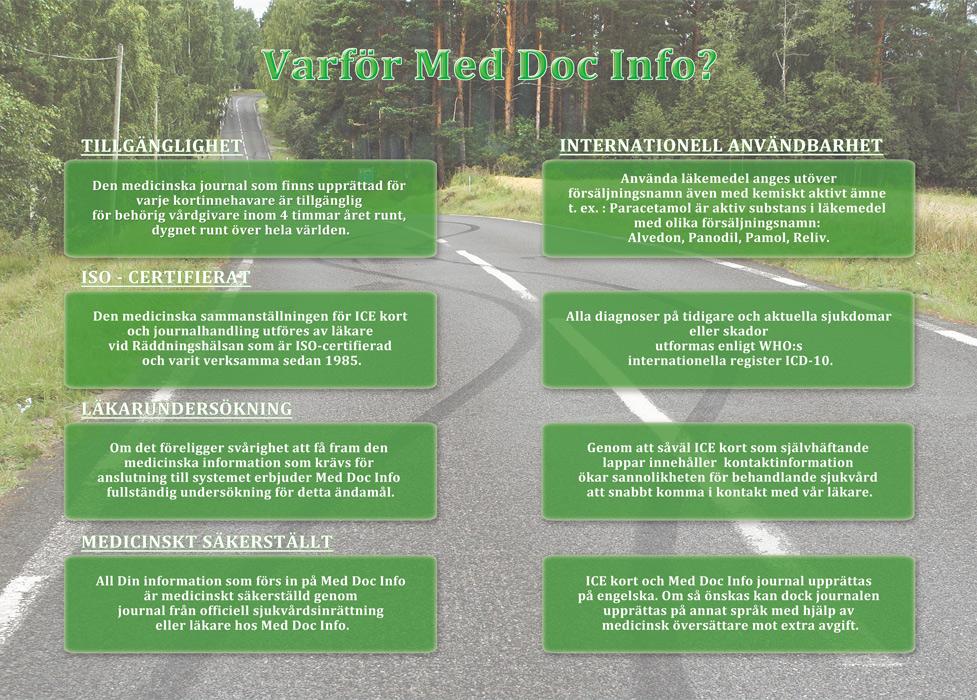 Sid.4 | Läkarundersökning före resan utomlands